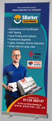 fast turn around pull up roller banner printers